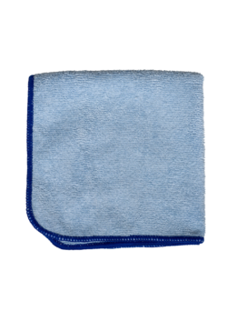 image of Blue Microfiber Cloth | NuFiber