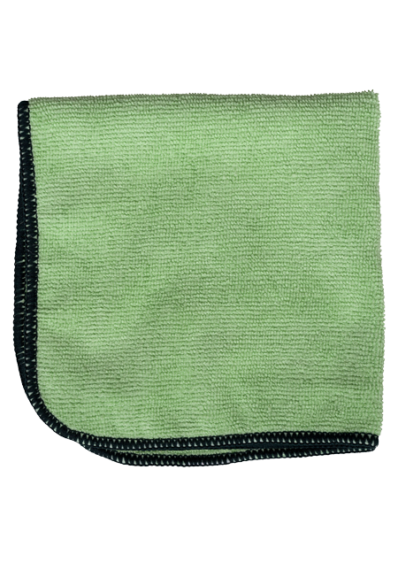image of Green Microfiber Cloth | NuFiber