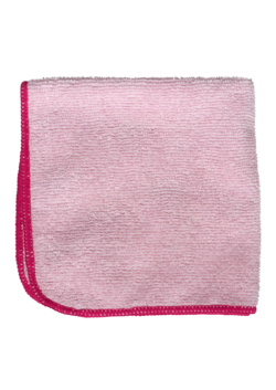 image of Pink Microfiber Cloth | NuFiber