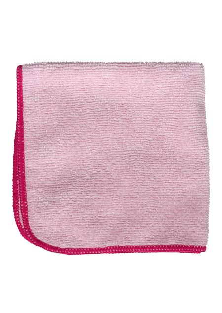 image of Pink Microfiber Cloth | NuFiber