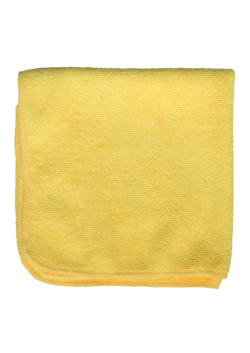 image of Yellow Microfiber Cloth | NuFiber